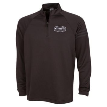 The Ultimate Fan Of The New England Patriots Adidas Half Zip Performance Training Top