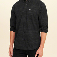 Guys Stretch Poplin Shirt | Guys Clearance | HollisterCo.com