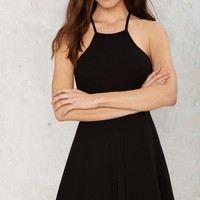 Angie Fit & Flare Mini Dress