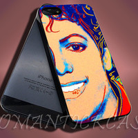 Michael Jackson Art - iPhone 4/4s/5c/5s/5 Case - Samsung Galaxy S3/S4 Case - Black or White