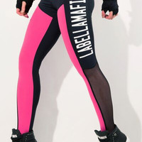 Black n' Pink Legging