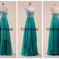 Lace Prom Dress Long Bridesmaid Dress Homecoming Dress evening dress formal dress Cocktail Dress Green dress dresses emerald