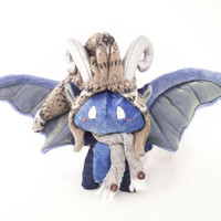 Kawaii Dragon Plushie-Doll with removable accessories