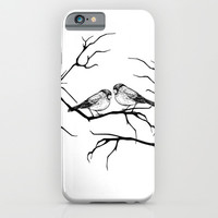 Family birds iPhone & iPod Case by Haroulita
