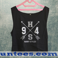 One Direction Harry Styles 1D Womens Crop Tank