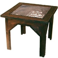 One Kings Lane - The Well-Traveled Home - Moroccan Grillwork Table
