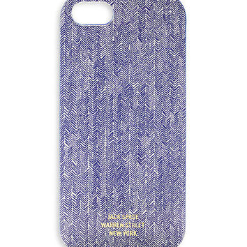 Jack spade | Hand Drawn Herringbone iPhone 5 Hard Case