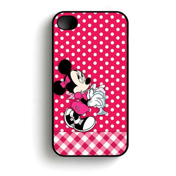 Cute Minnie Mouse  iPhone 4 and iPhone 4s case