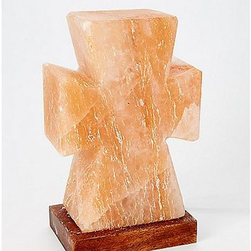 Cross Himalayan Salt Lamp - Spencer's