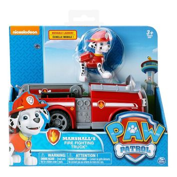 Paw Patrol Puppy Fire Brigade Ambulance Patrulla Canina Toys Anime Figurine Car Plastic Toy Action Model Children Gifts Toys
