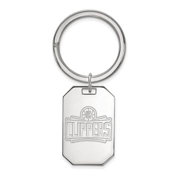 NBA Los Angeles Clippers Key Chain in Sterling Silver