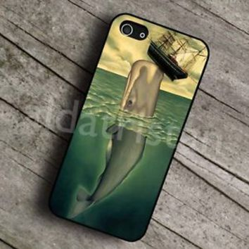 whale and boat case for iPhone 4 4s 5 5s 5c 6 6plus case,Samsung,Xperia,HTC