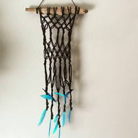 Macrame Wall Hanging,  Bohochic room decor, Bohemian Style, Wall Art, Home and Decor Ideas, Gift for her, Gift for him, Baby Nursery Decor