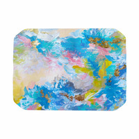 "Ebi Emporium ""When We Were Mermaids"" Blue Yellow Place Mat"