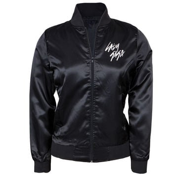 Lady Gaga - Bubblegum Skeleton Juniors Varsity Jacket