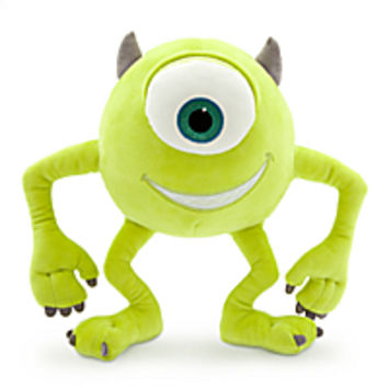 Mike Wazowski Plush - Monsters, Inc. - Small - 10 1/2''