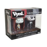 Funko The Nightmare Before Christmas Vynl. Sally & Jack Skellington Vinyl Figures