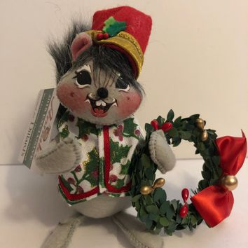 Annalee Dolls 2018 Christmas Elegance Squirrel Dillard's Plush New with Tags