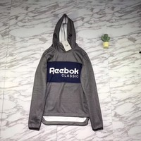 Reebok Woman Men Fashion Hoodie Top Sweater Pullover-2