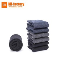 Xiaomi 90 Winter Casual Men Women Wool Socks Thicken Merino Wool Breathable Soft Keep Warm Black Gray Socks Best Gift A Pair