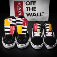 VANS 1966 Sk8-HI x Old Skool Skateboarding Shoes 36-44