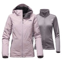 The North Face HighAndDry Triclimate Jacket for Women in Quail Grey NF0A2TDM-LJJ