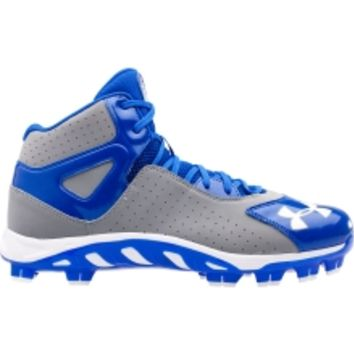 Under Armour Kids' Spine Heater Mid TPU Baseball Cleat