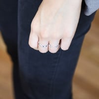 Olive Ring Silver