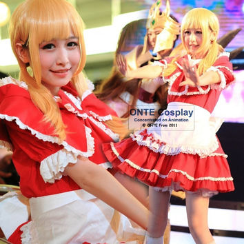 LOL Cosplay Costumes the Dark Child Annie Maid Dress Little Red Riding Hood Women Fancy Party Witch Cos for Halloween Christmas