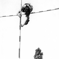 Track and Field Pole Vault Photo Fine Art Print