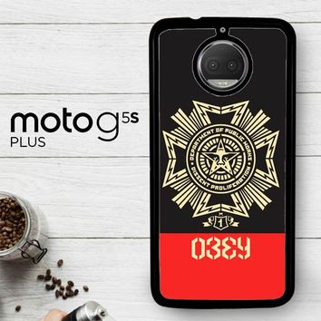 Obey Clothing O0726  Motorola Moto G5S Plus Case