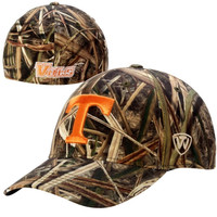 Tennessee Volunteers Top of the World Blades Memory Fit Flex Hat – Camo