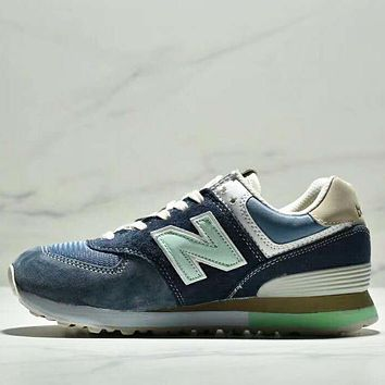 New Balance NB 574 ML574ETC Fashion New Letter Z Leisure Sports Women Men Shoes