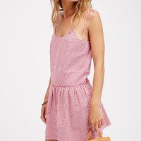 Free People Fly So High Mini Dress