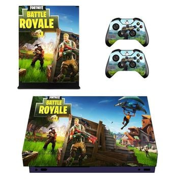 Game Vinyl Cover Decal Xboxone X Skin Sticker For Xbox One X Console 2 Controller Protective Skins