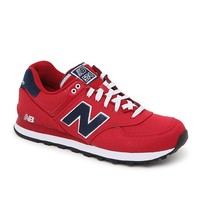 New Balance 574 Pique Polo Shoes - Mens Shoes - Red
