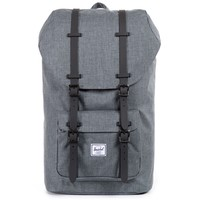 Charcoal Crosshatch Little America Backpack