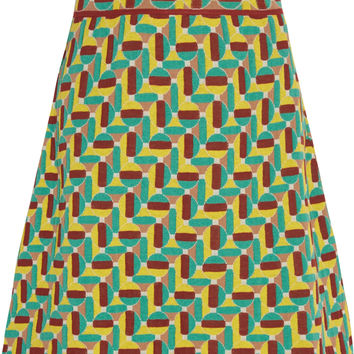 M Missoni - Jacquard-knit cotton-blend mini skirt