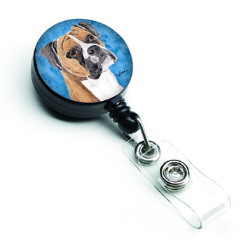 Boxer Retractable Badge Reel or ID Holder with Clip