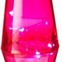 Lava Lite 9006 10-Inch Pink twinkle lamp