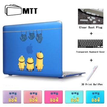 Minions Condole belt Jeans Laptop Sleeve Case for Macbook Mac Book Air Pro 11 13 15 13.3 Non-slip Notebook Protector Cover Bag