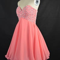 Lovely Short/ Mini A-Line Cocktail Prom Cheap 2012 Homecoming Dresses under 100