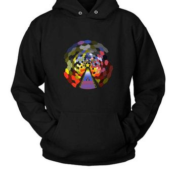 LMFGW7 The Rainbow Road Hoodie Two Sided