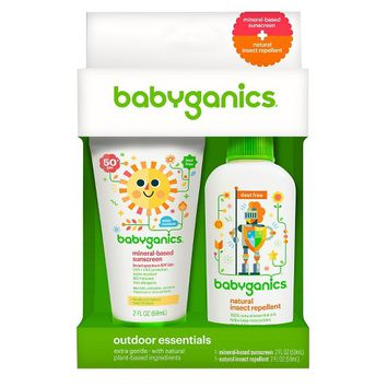 Babyganics Outdoor Essentials Duo Pack