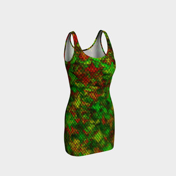 netzauge - colorful a1 Bodycon Dress