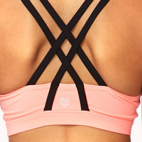 Medium Impact - Strappy Crossback Sports Bra