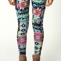 Sandy Geometric Leggings