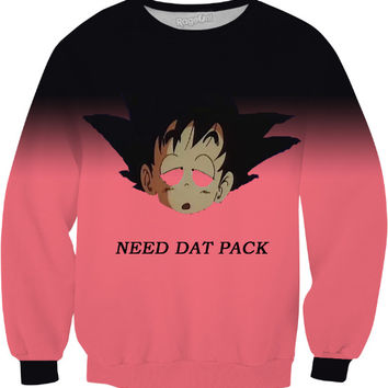 Goku Needs Dat Pack