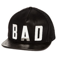 The Bad Leather Snapback