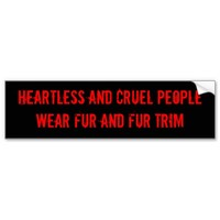 HEARTLESS AND CRUEL PEOPLEWEAR FUR AND FUR TRIM
